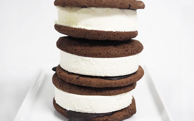 Mint Brownie Ice Cream Sandwich Brooklyn Smorgasburg
