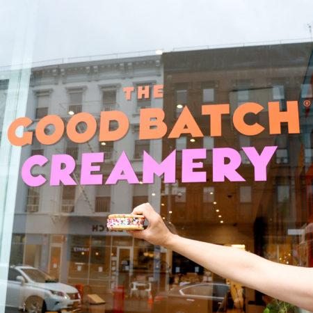 The Good Batch Creamery in Clinton Hill, Brooklyn