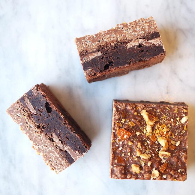 Hazelcrunch Brownie The Good Batch Bakery
